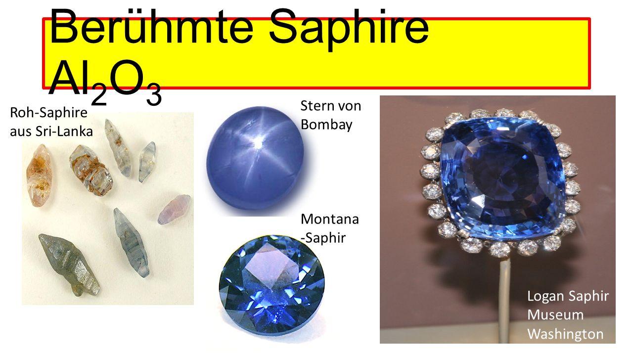 Berühmte Saphire Al2O3 Stern von Bombay Roh-Saphire aus Sri-Lanka