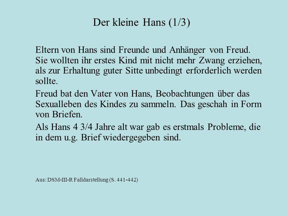 Der kleine Hans (1/3)