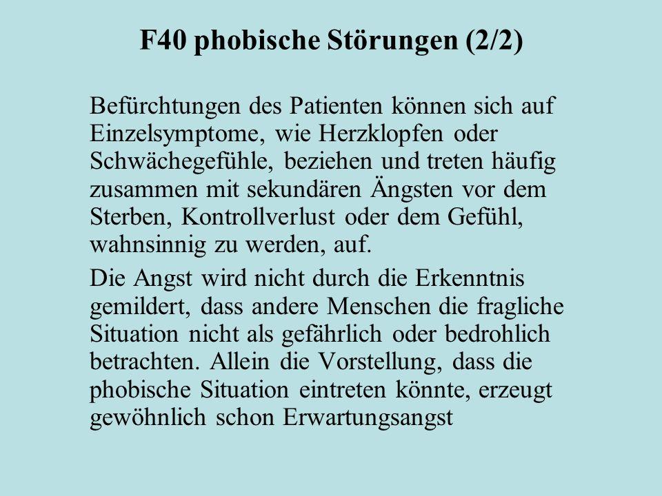 F40 phobische Störungen (2/2)