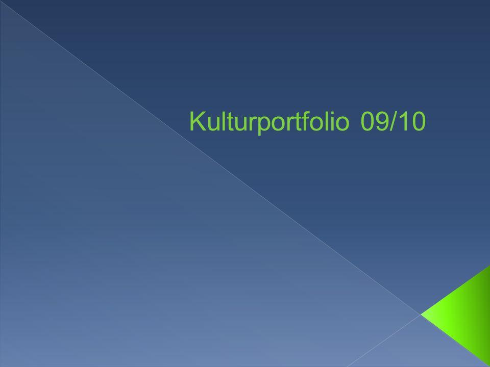 Kulturportfolio 09/10