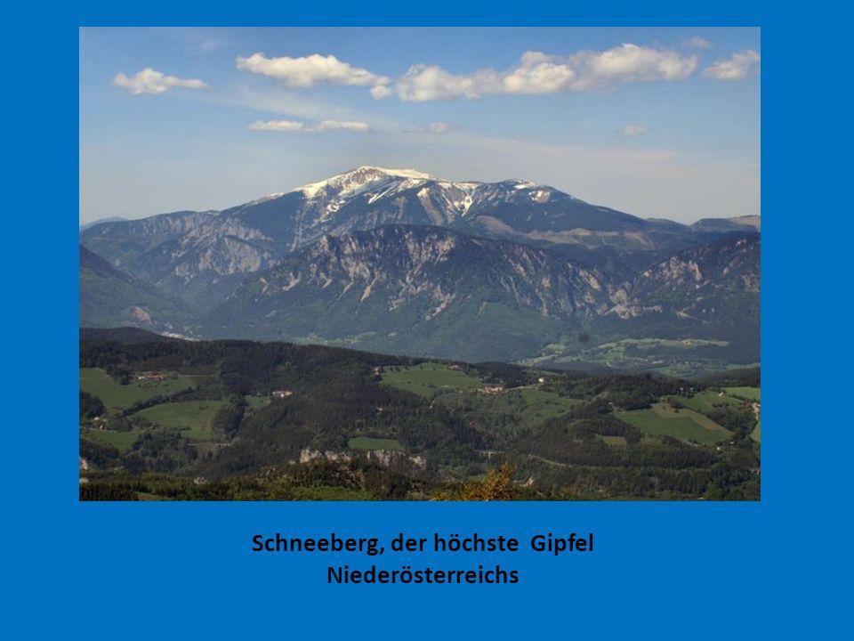 Schneeberg, der höchste Gipfel Niederösterreichs