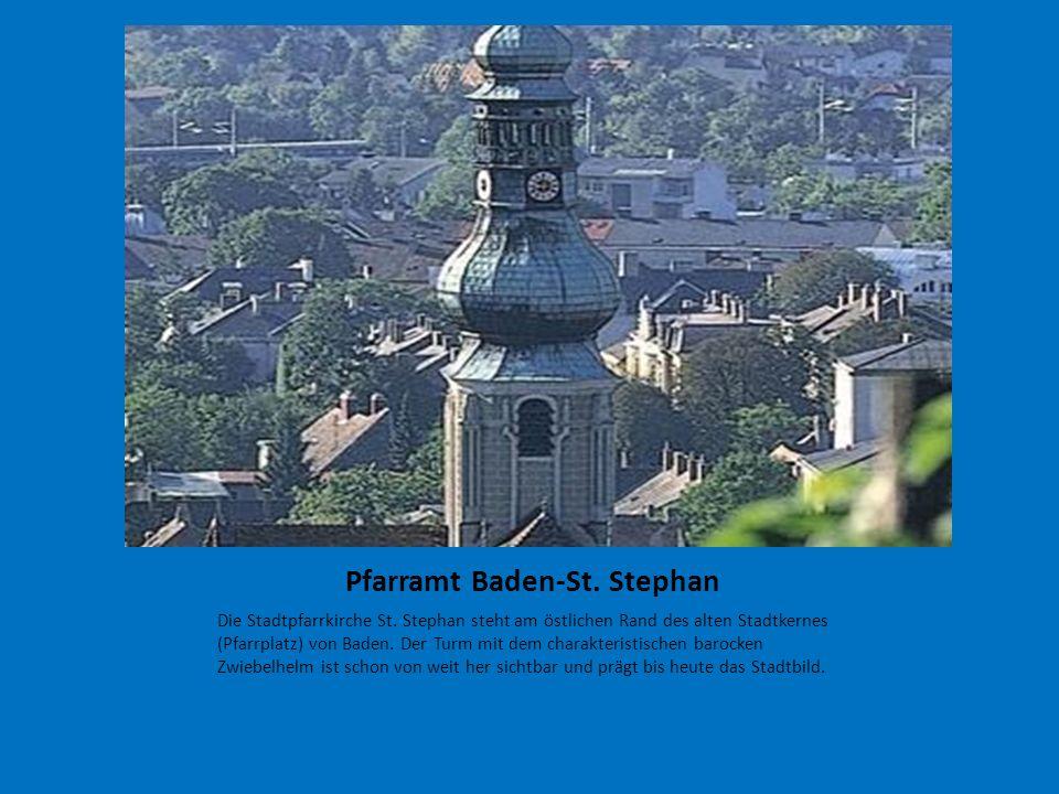 Pfarramt Baden-St. Stephan