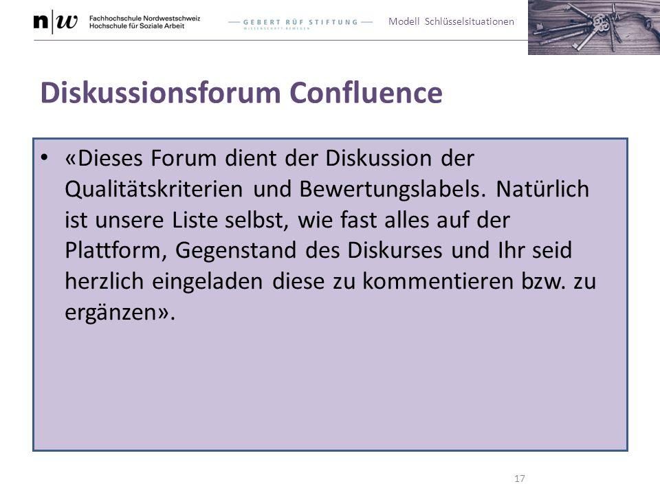 Diskussionsforum Confluence