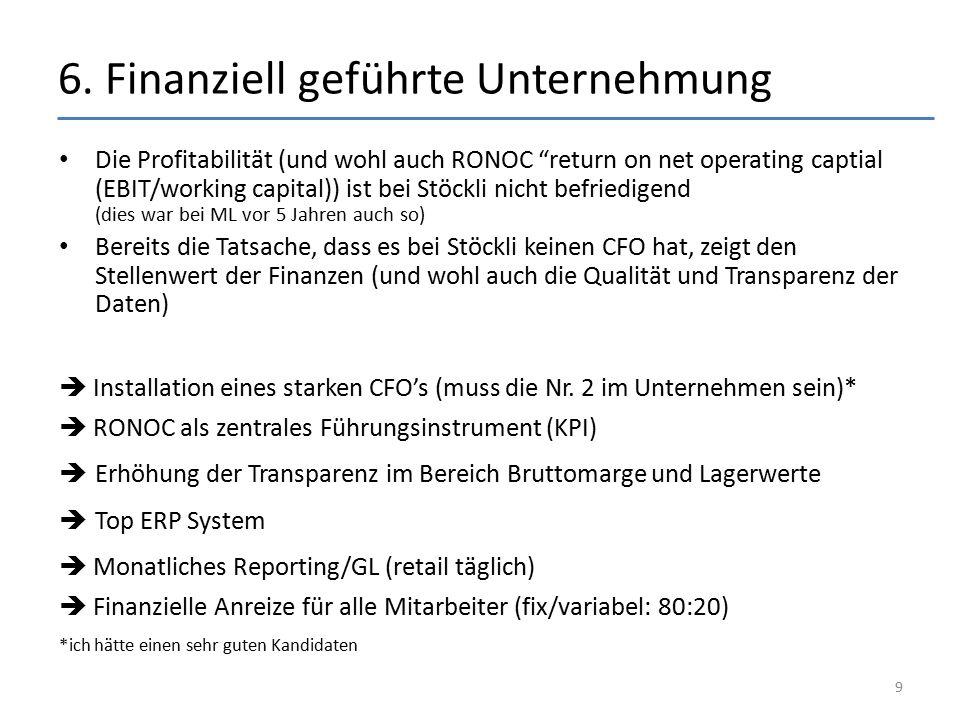 6. Finanziell geführte Unternehmung