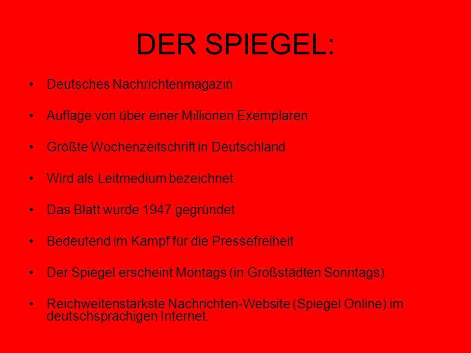 Der spiegel deutsches nachrichtenmagazin ppt video for Spiegel nachrichtenmagazin