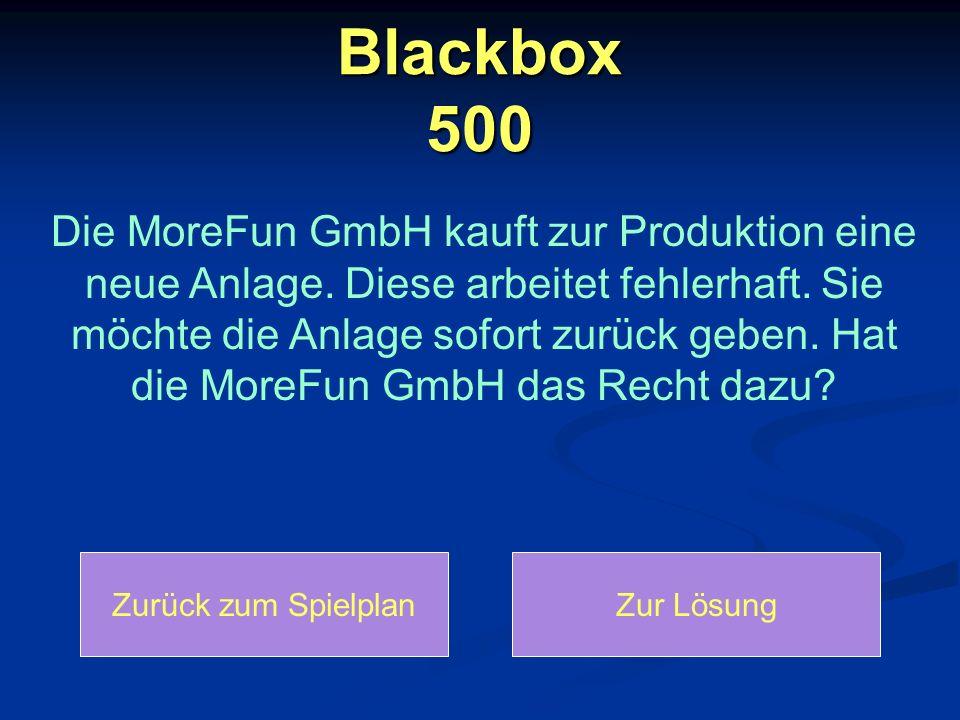 Blackbox 500