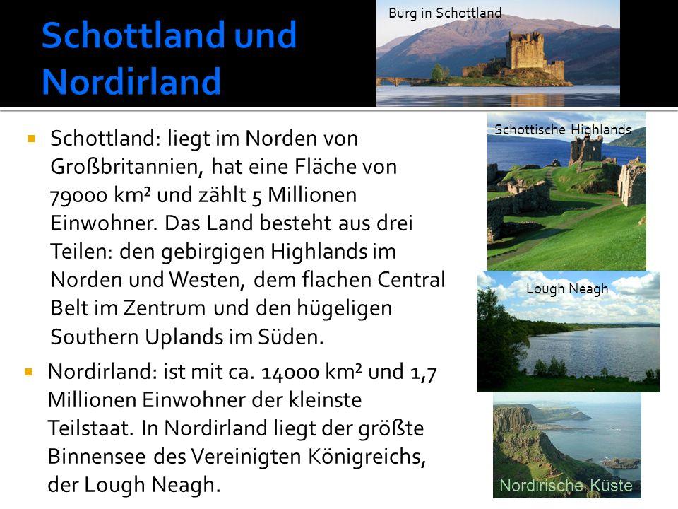 Schottland und Nordirland