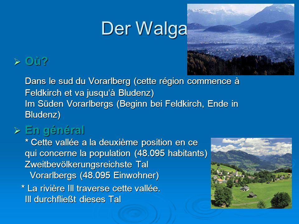 Der Walgau Où