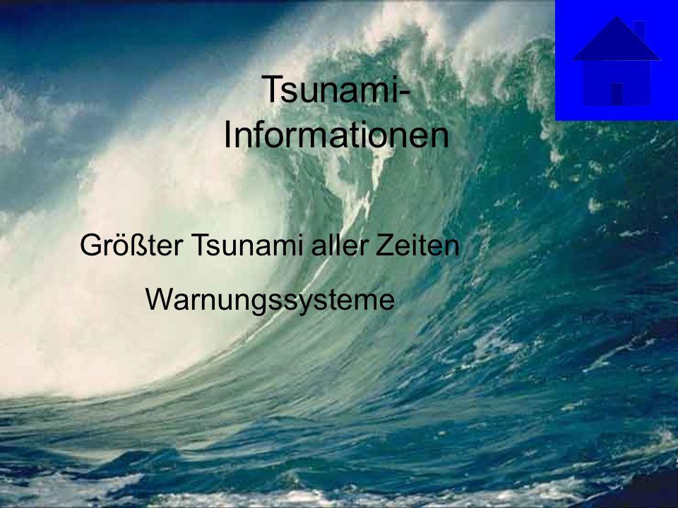 Tsunami-Informationen