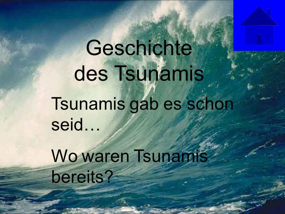 Geschichte des Tsunamis