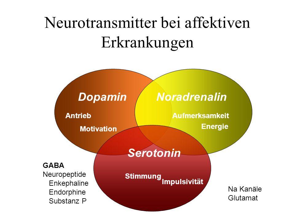 Neurotransmitter bei affektiven Erkrankungen