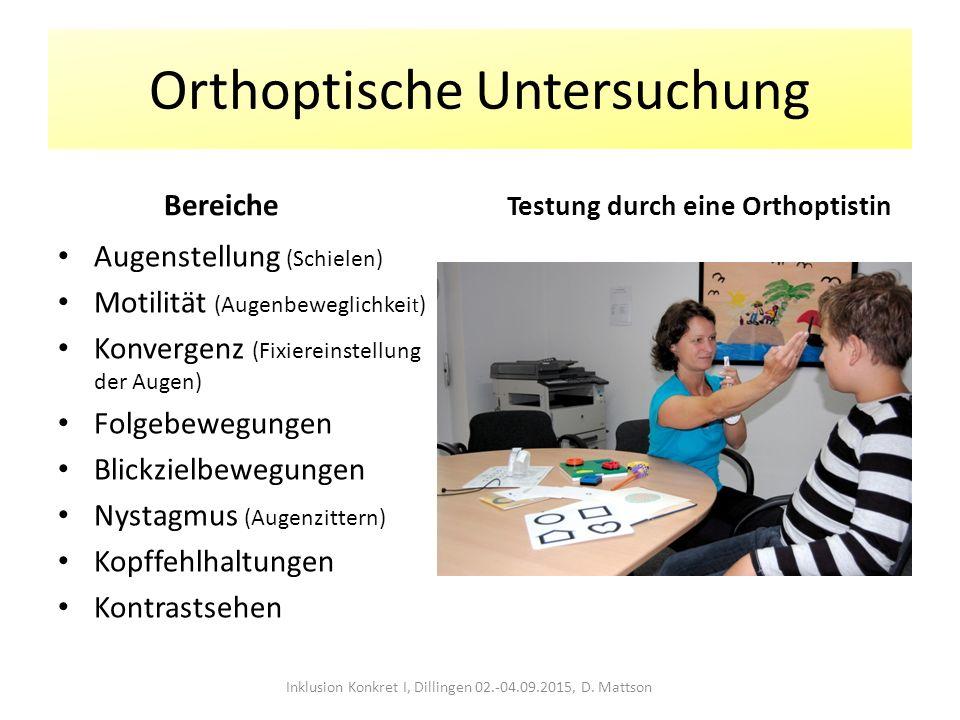 Orthoptische Untersuchung