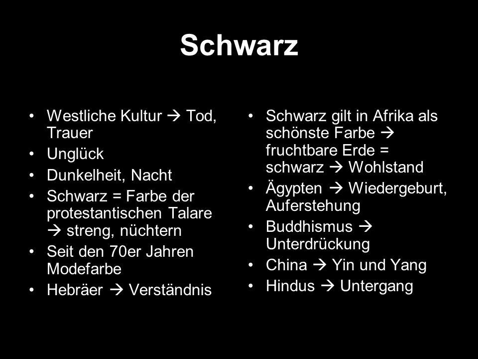Schwarz Westliche Kultur  Tod, Trauer Unglück Dunkelheit, Nacht