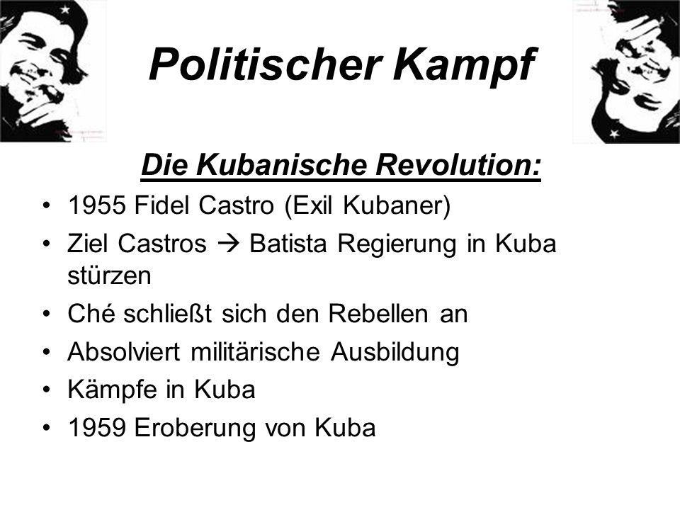 Die Kubanische Revolution: