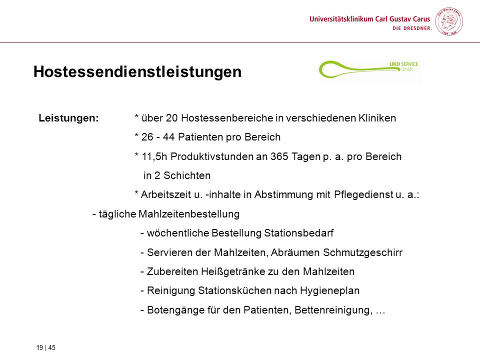 Hostessendienstleistungen