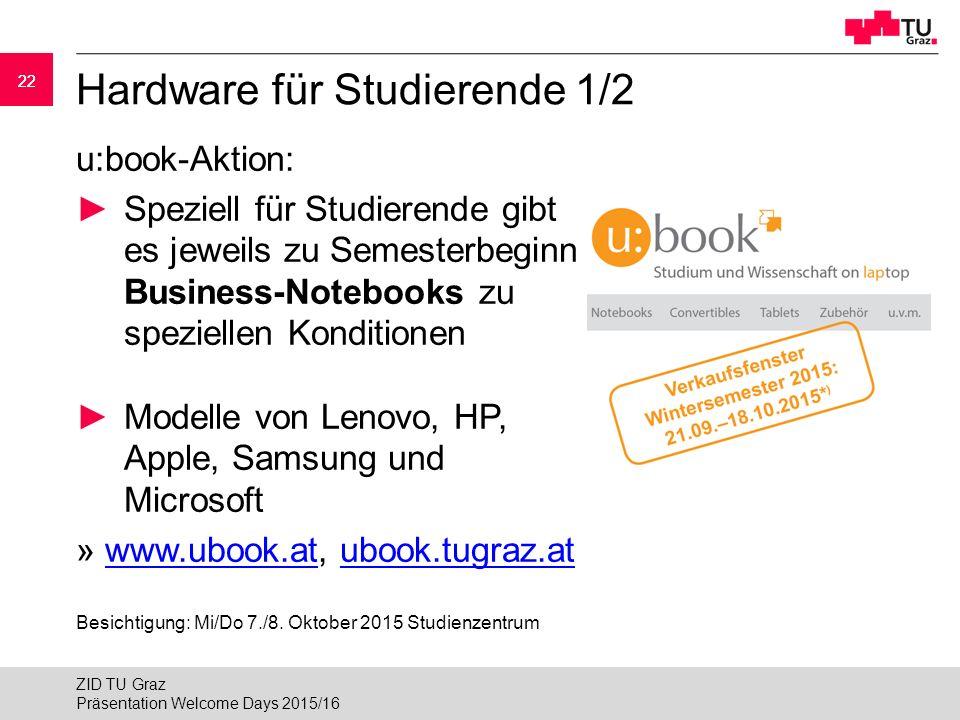Hardware für Studierende 1/2