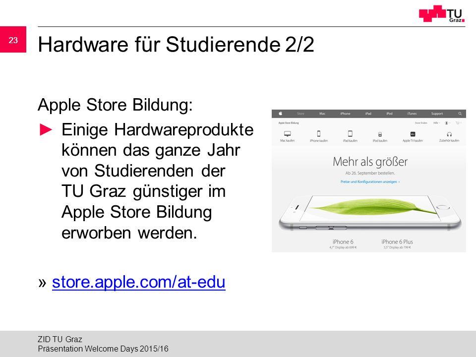 Hardware für Studierende 2/2