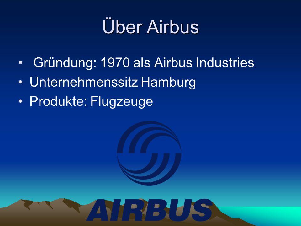 Über Airbus Gründung: 1970 als Airbus Industries