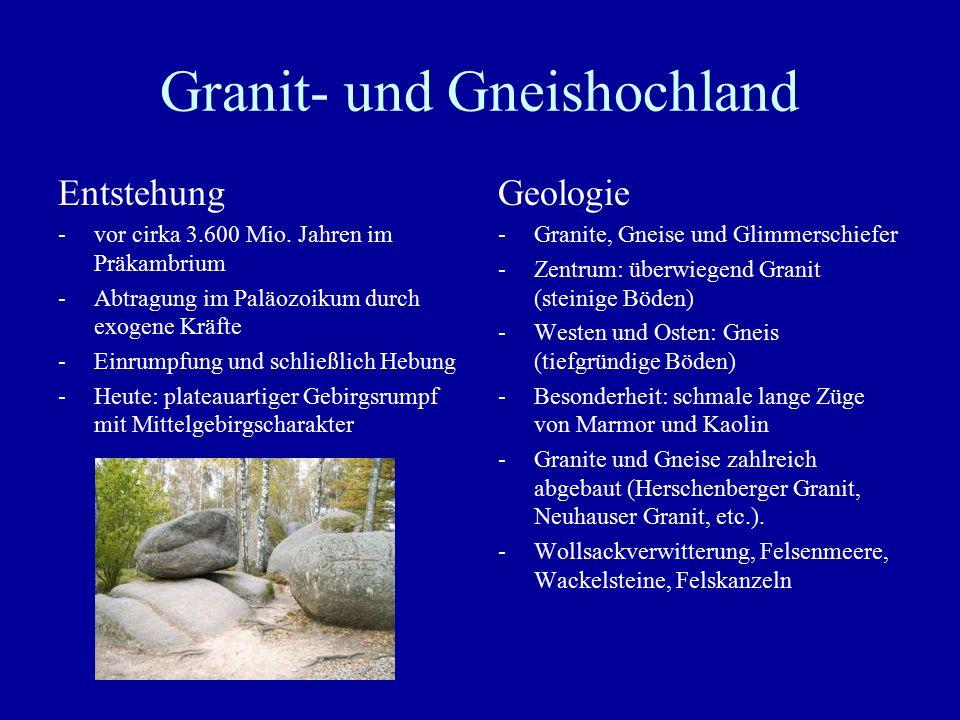Granit- und Gneishochland