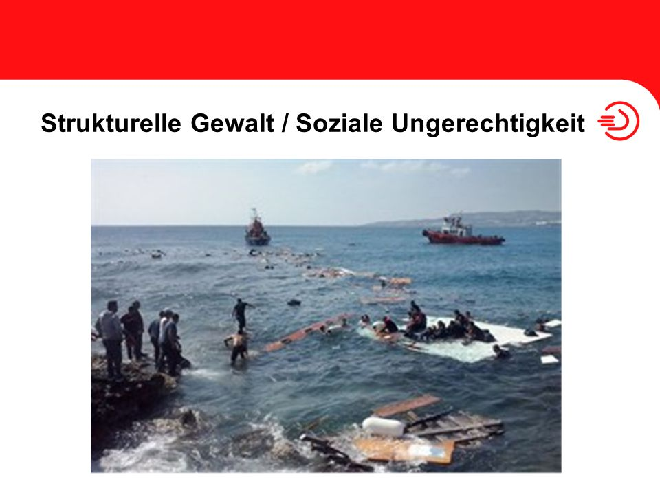 Strukturelle Gewalt / Soziale Ungerechtigkeit