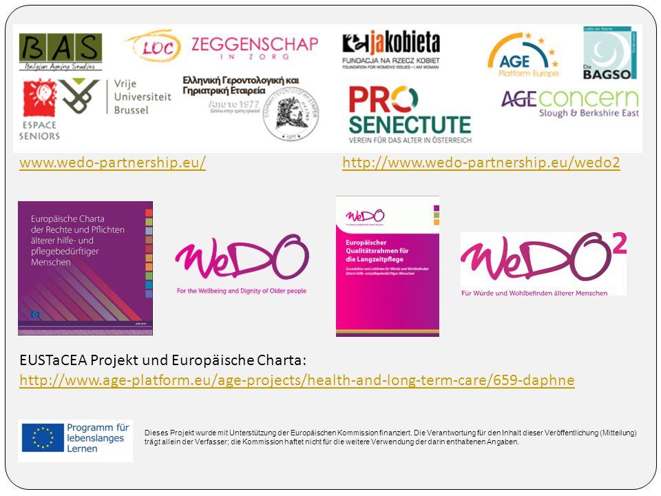 EUSTaCEA Projekt und Europäische Charta: