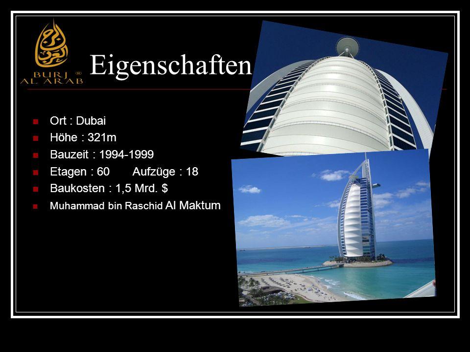 Eigenschaften Ort : Dubai Höhe : 321m Bauzeit : 1994-1999