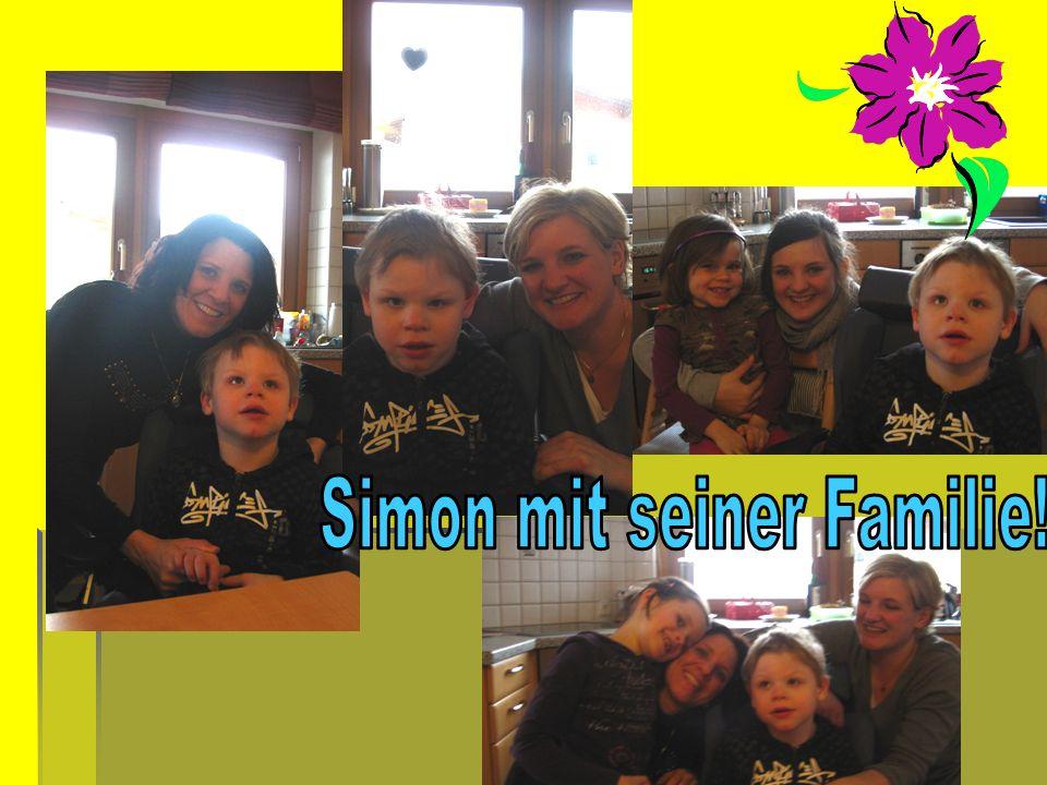 Simon mit seiner Familie!