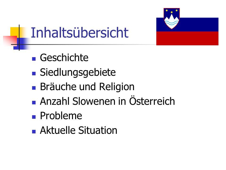 Inhaltsübersicht Geschichte Siedlungsgebiete Bräuche und Religion