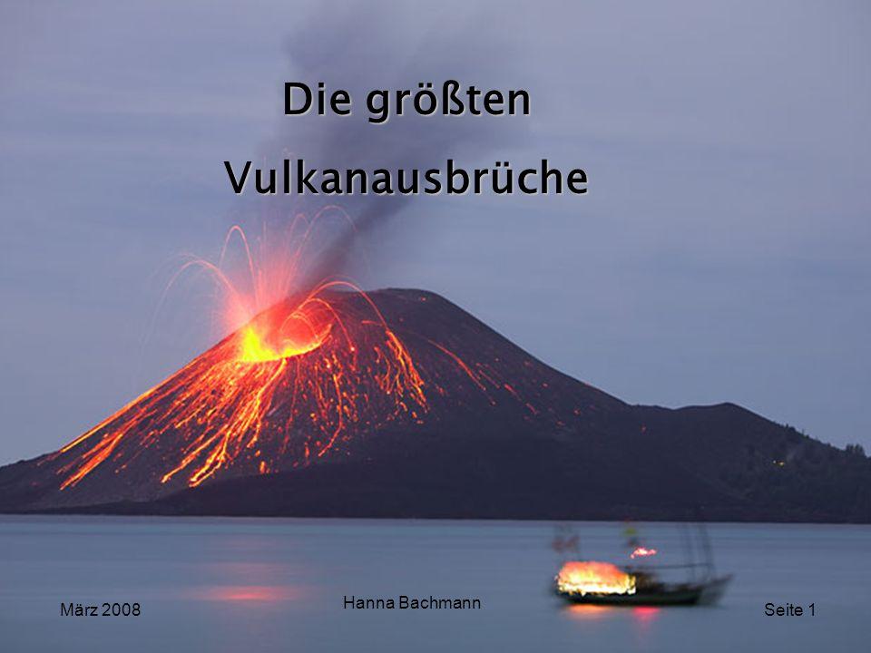 Die größten Vulkanausbrüche