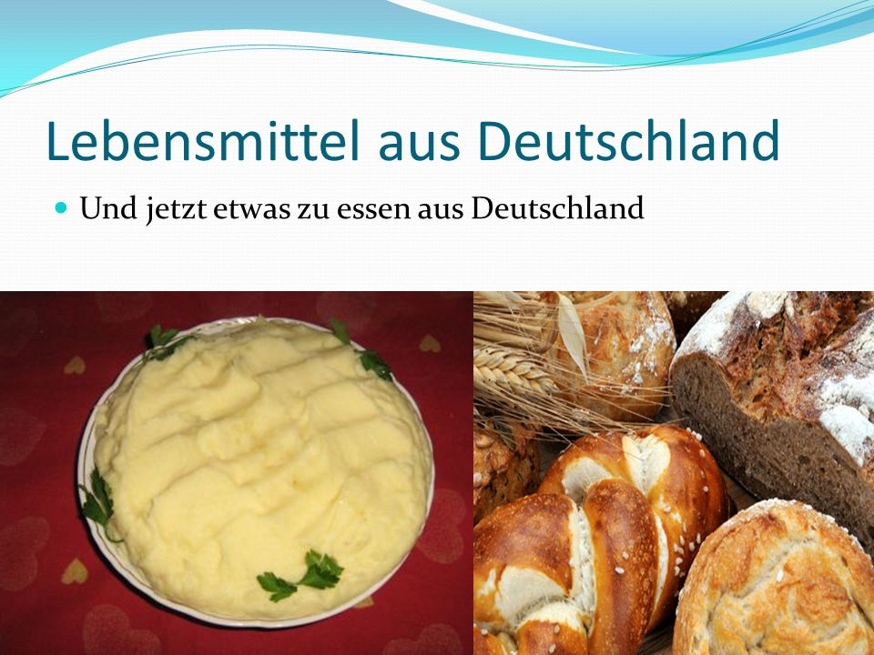Lebensmittel aus Deutschland