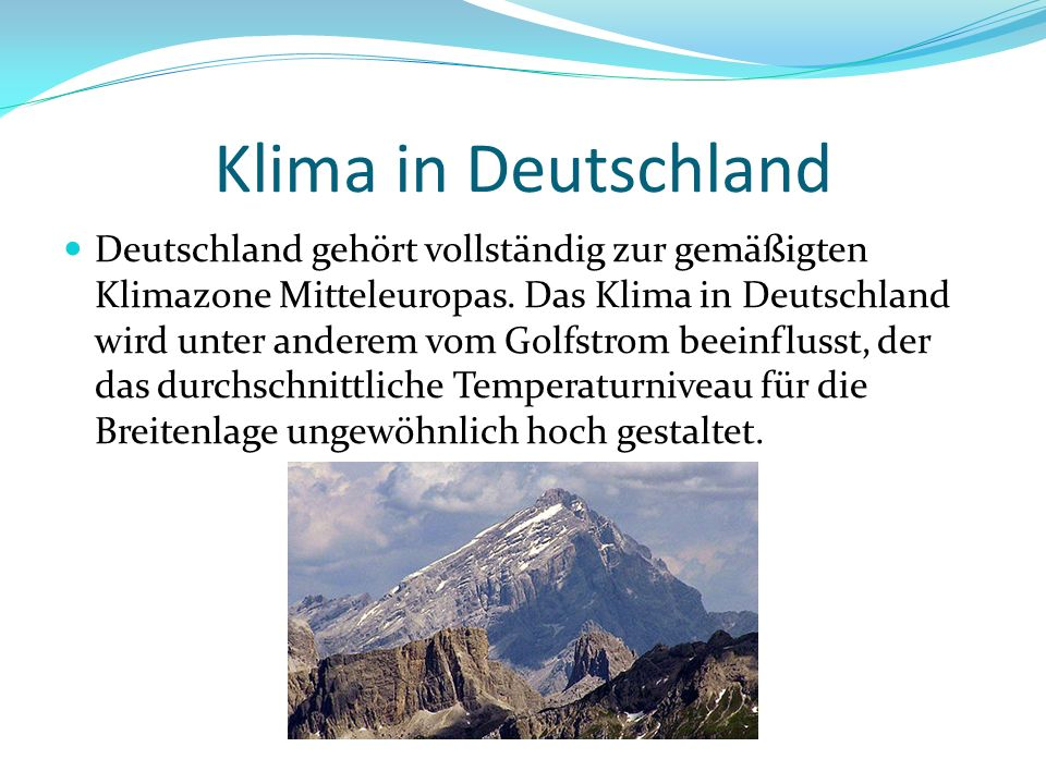 Klima in Deutschland