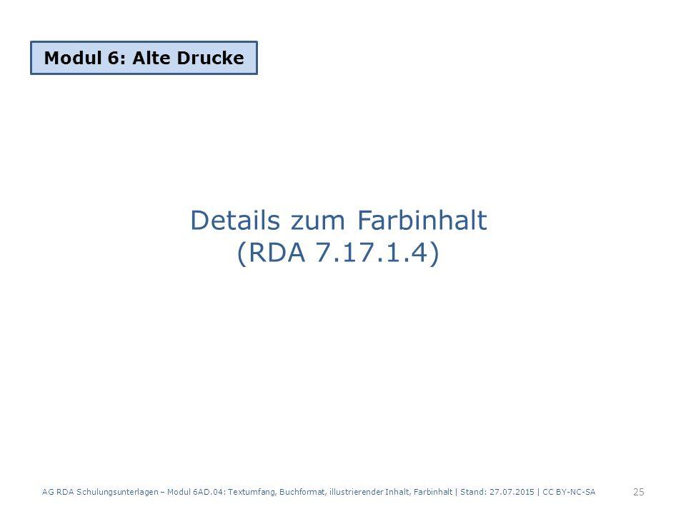 Details zum Farbinhalt (RDA 7.17.1.4)