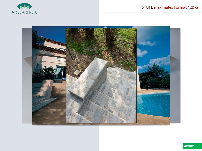 STUFE maximales Format 120 cm