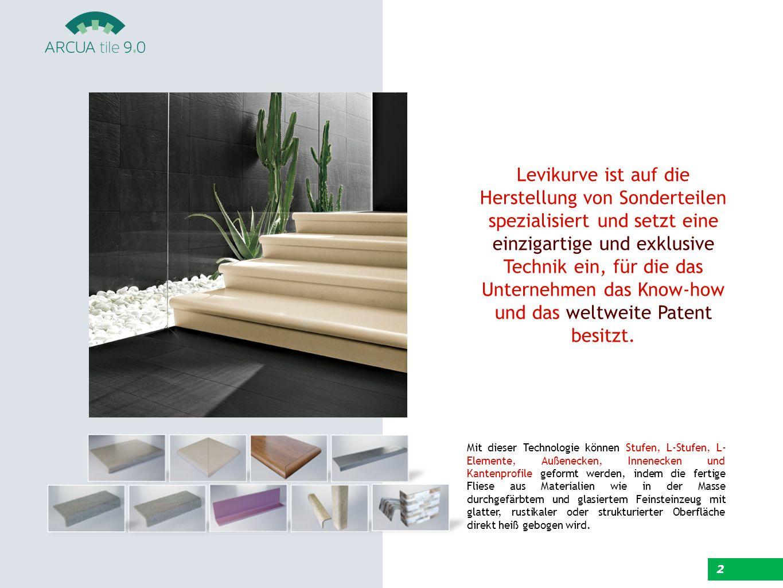 Levikurve ist auf die Herstellung von Sonderteilen spezialisiert und setzt eine einzigartige und exklusive Technik ein, für die das Unternehmen das Know-how und das weltweite Patent besitzt.