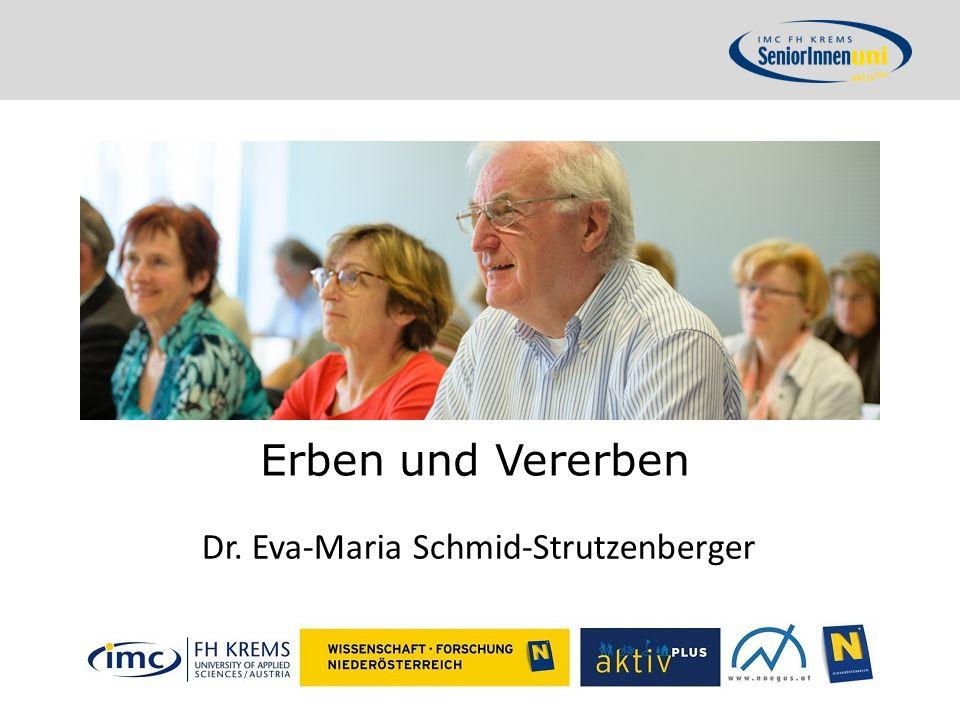 Dr. Eva-Maria Schmid-Strutzenberger