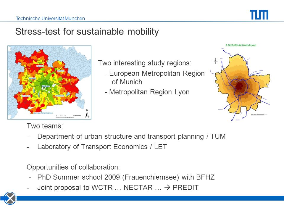 Stress-test for sustainable mobility