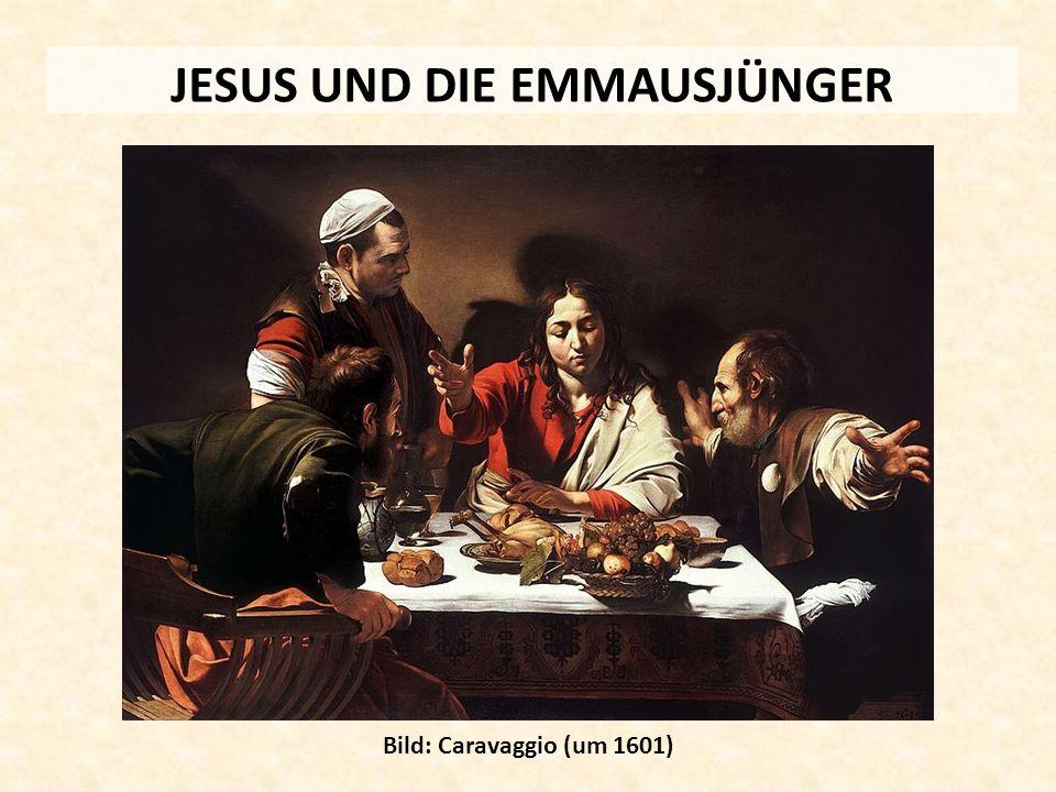 JESUS UND DIE EMMAUSJÜNGER