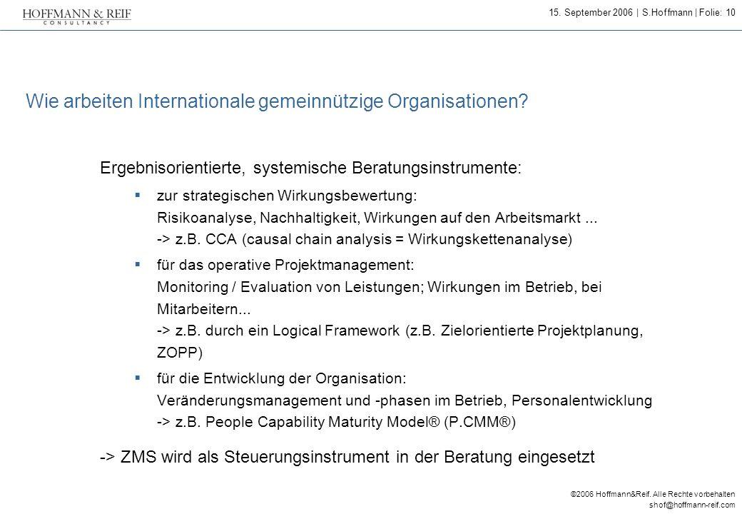 Wie arbeiten Internationale gemeinnützige Organisationen