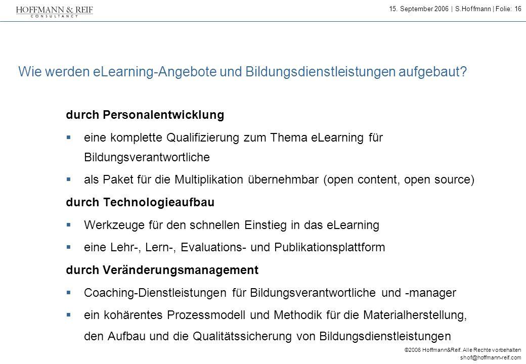 Wie werden eLearning-Angebote und Bildungsdienstleistungen aufgebaut