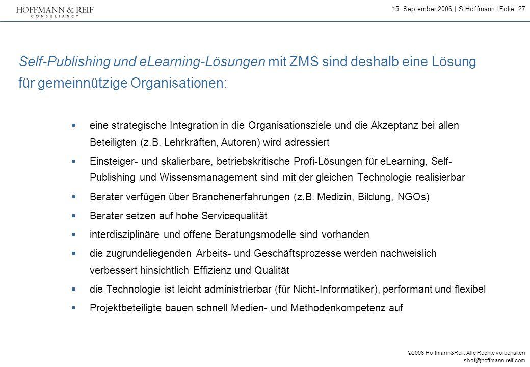 Self-Publishing und eLearning-Lösungen mit ZMS sind deshalb eine Lösung für gemeinnützige Organisationen: