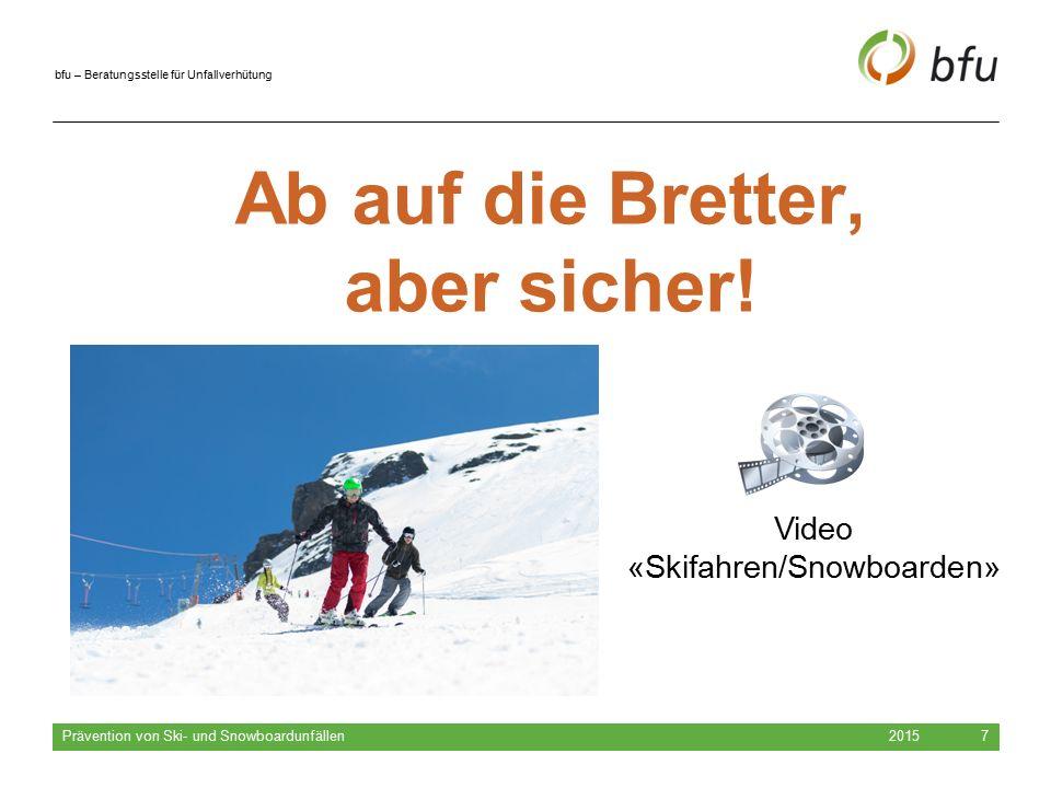 Video «Skifahren/Snowboarden»