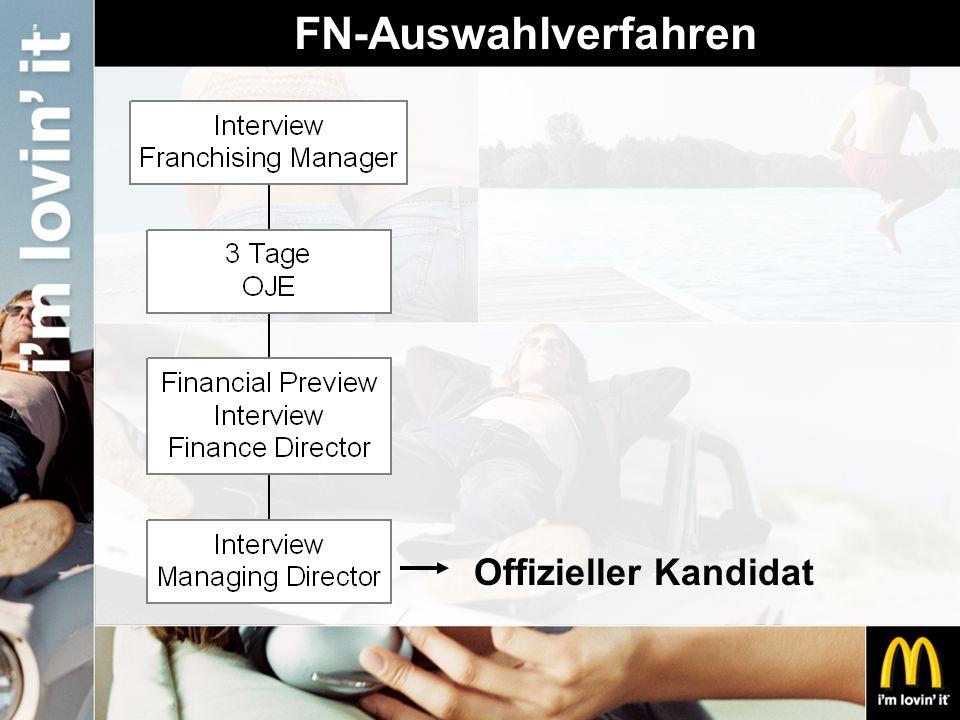 FN-Auswahlverfahren Offizieller Kandidat