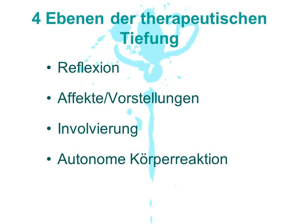 4 Ebenen der therapeutischen Tiefung