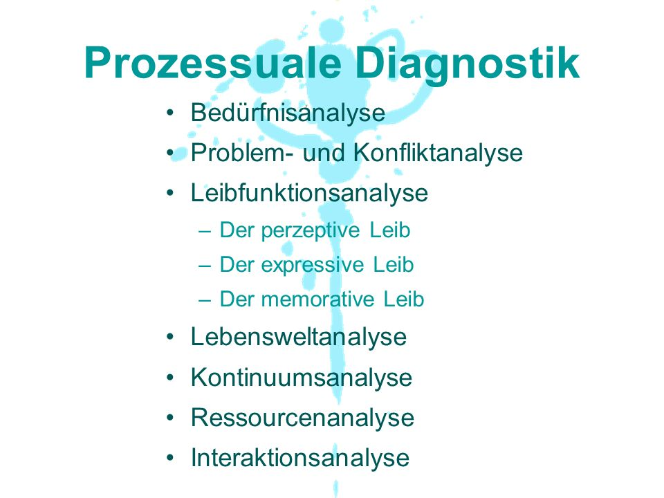 Prozessuale Diagnostik