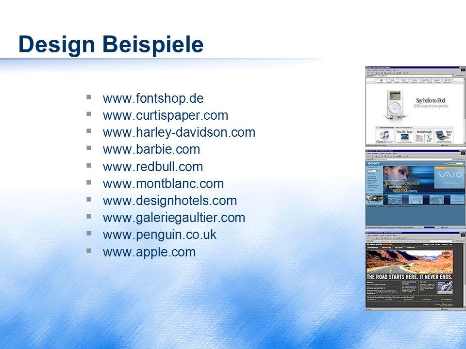 Design Beispiele www.fontshop.de www.curtispaper.com