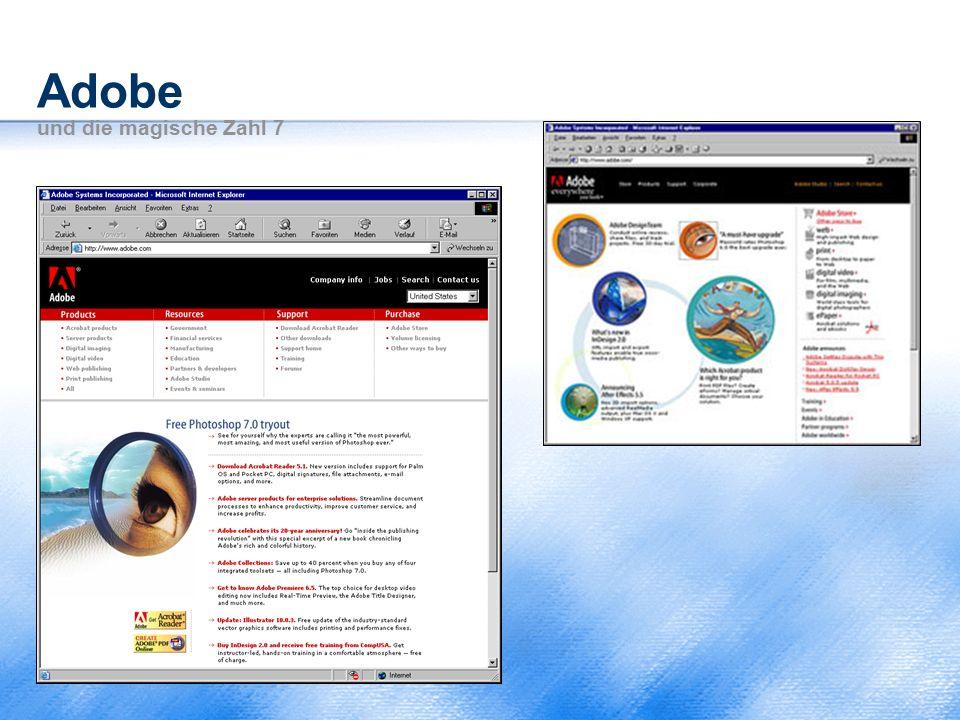 Adobe und die magische Zahl 7