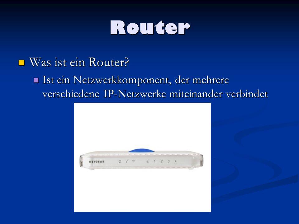 Router Was ist ein Router
