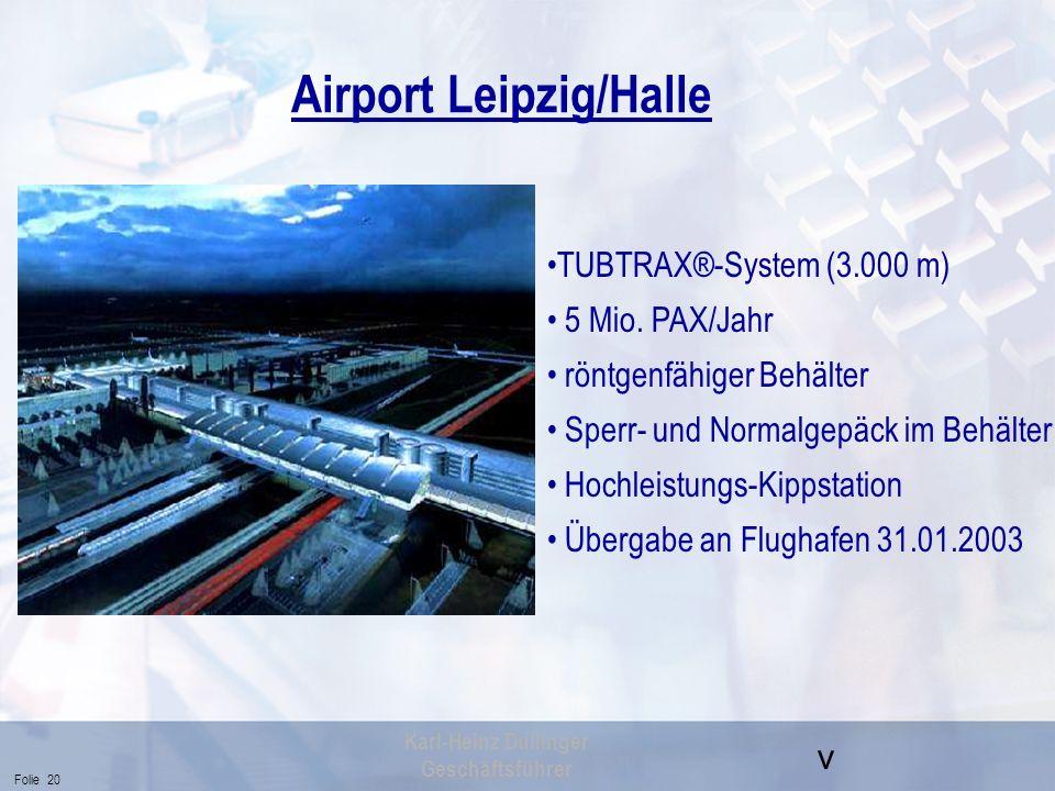 Airport Leipzig/Halle