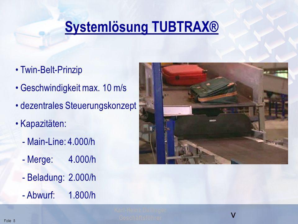 Systemlösung TUBTRAX®