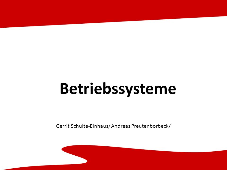 Gerrit Schulte-Einhaus/ Andreas Preutenborbeck/